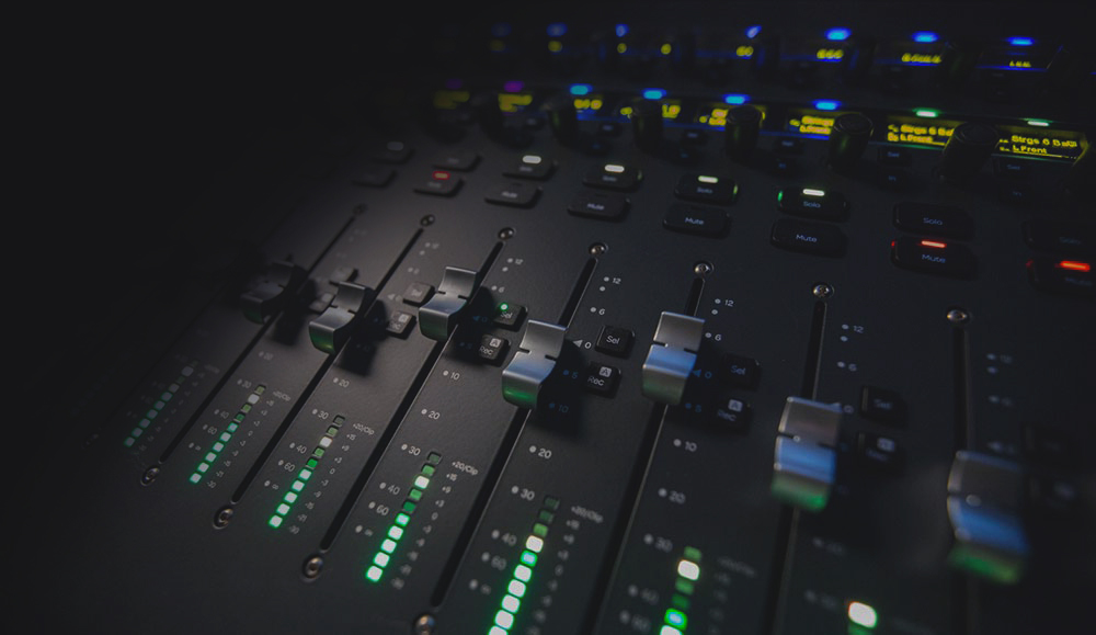 Mixer audio e accessori professionali per eventi roma